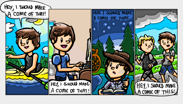 Comic #6, Panels 1-4