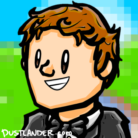 Custom 8-bit background!