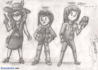 Ironwood Characters