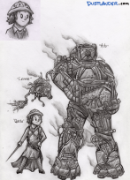 The Steampunks Characters