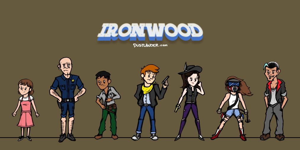 Ironwood Main Cast