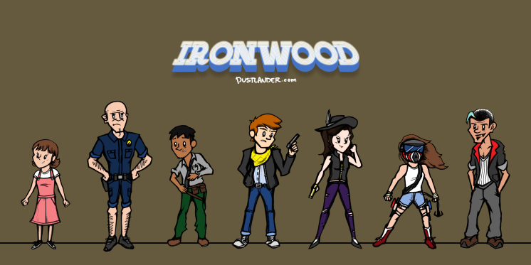 Ironwood Main Cast