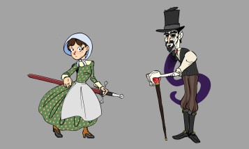 Creepy Characters