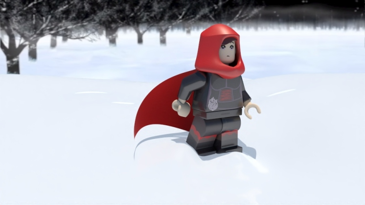 Fanart - Copyright LEGO, Rooster Teeth 2013