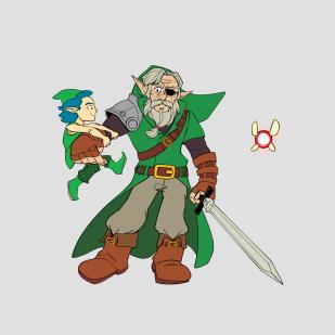 Old Man Link 2B